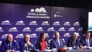 Por la izquierda, Jaime Castellanos (Valderrama), Manuel Muñoz (Junta...