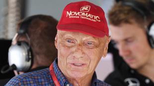 Niki Lauda, en 2016