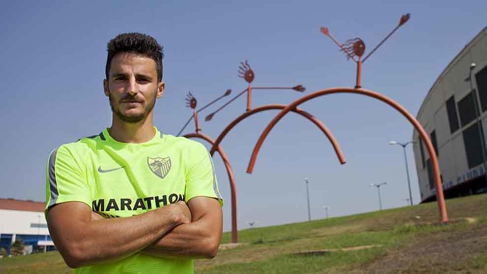 Juankar posa para MARCA en las instalaciones del Estadio Ciudad de...