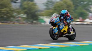 Álex Marquez, en Le Mans.