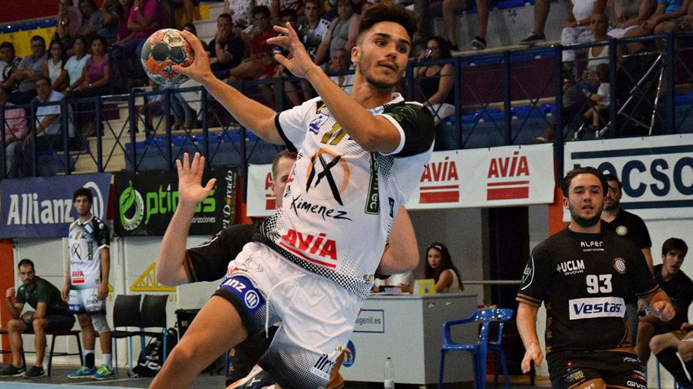 Xavi Tuà durante un partido de la Copa del Rey ante el Alarcos /
