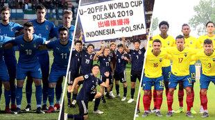 México se medirá a Italia, japón y Ecuador en el Mundial sub 20