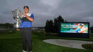 Koepka tras ganar el PGA.