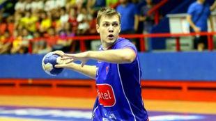 El lateral izquierdo serbio, de categoría júnior, con el Bania Luka...