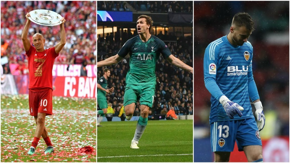 746e220e1 Tuesday's transfer round-up: Arsenal want a goalkeeper, Robben's return to  PSV and Llorente's future