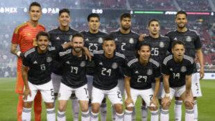 La selección mexicana comparte sector con Panamá y Bermuda