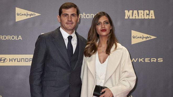 Iker Casillas y Sara Carbonero, en la gala del 80 aniversario de...