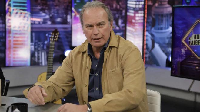 """Bertín Osborne en """"El Hormiguero"""", programa presentado por Pablo..."""