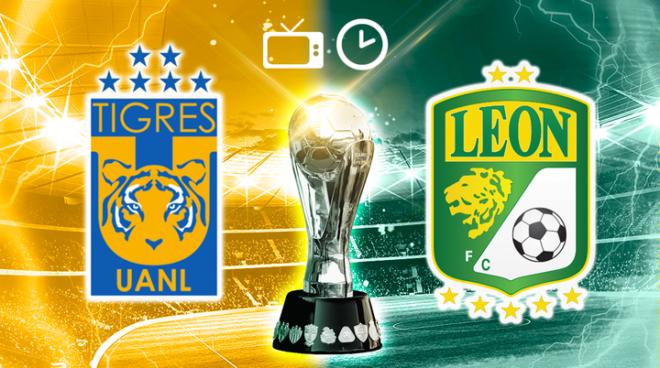 Tigres - Leon: hora y donde ver en TV