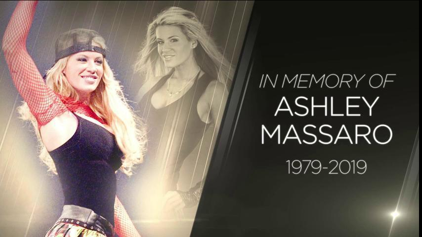 El homenaje de la WWE a Ashley Massaro tras conocer la noticia de su...