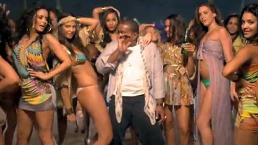 Timbaland durante una actuación