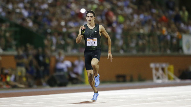 Bruno Hortelano, en carrera