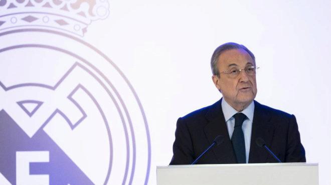 Florentino, durante una presentación.