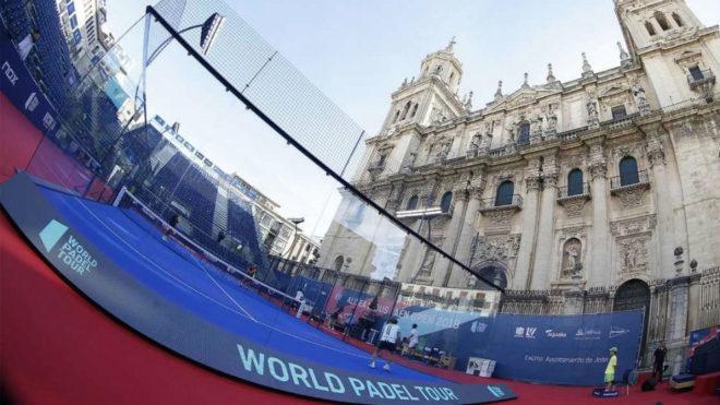 La Catedral de Jaén, testigo del mejor pádel del mundo.