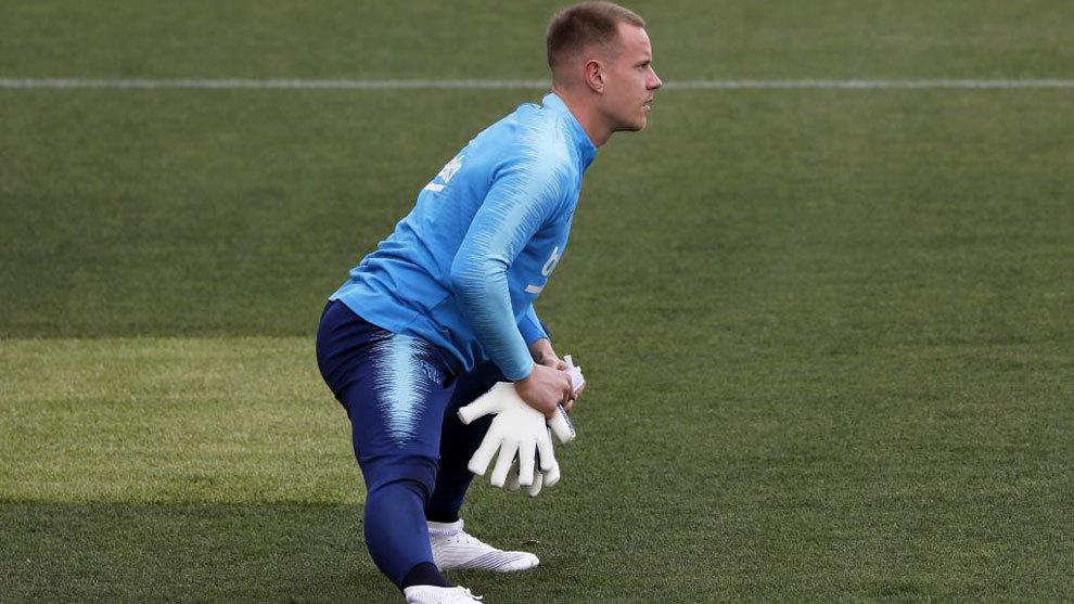 Ter Stegen será baja para la final de Copa