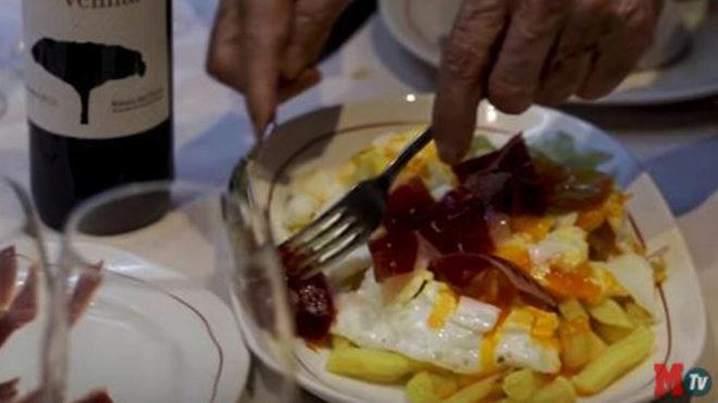 Los famosos 'huevos rotos' de 'Casa Lucio'