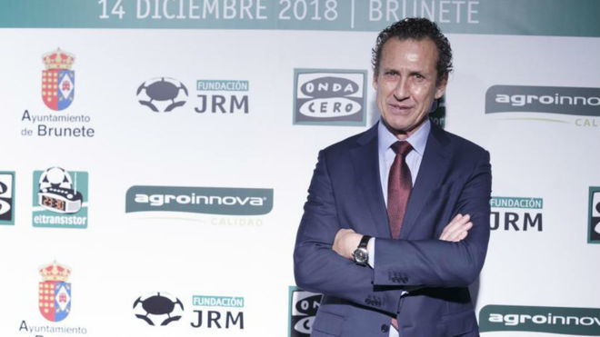 Jorge Valdano during an event.