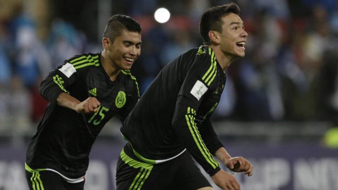 Lozano marcó el primer gol del Tri en dicha competición