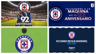 Varios clubes felicitaron a La Máquina por su aniversario