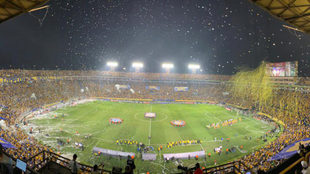 El Volcán lucirá llenó en la final de ida del Clausura 2019