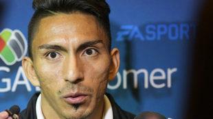 El ecuatoriano alabó el trabajo de su entrenador