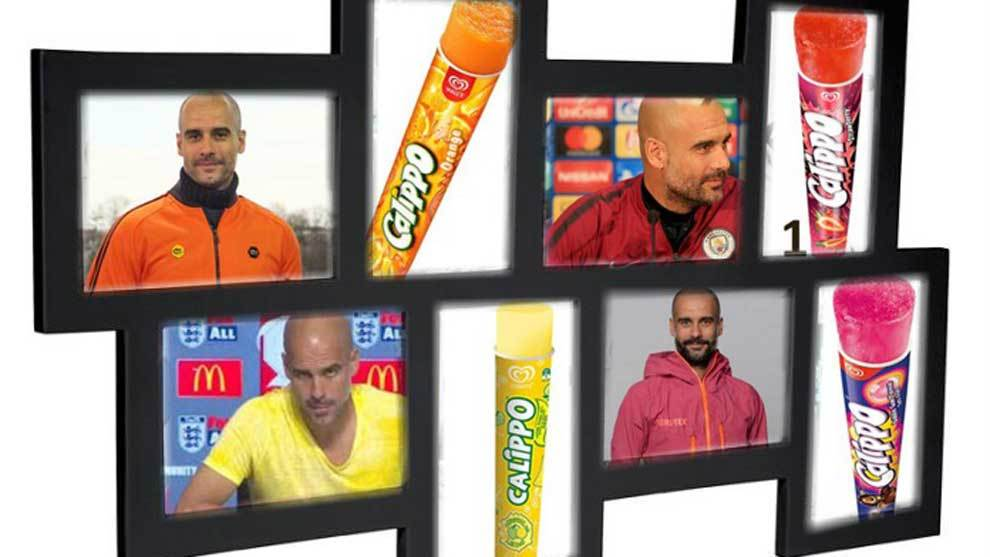 Twitter account @JOVHNNY has stylised Pep Guardiola as popular summer...
