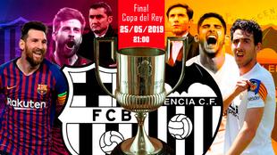 Barcelona - Valencia: hora y dónde ver por televisión la final de...