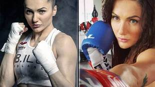 Polish world boxing champion Ewa Brodnicka, who has a 16-match...