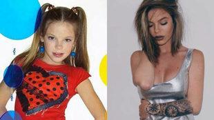 El antes y el después de la cantante María Isabel