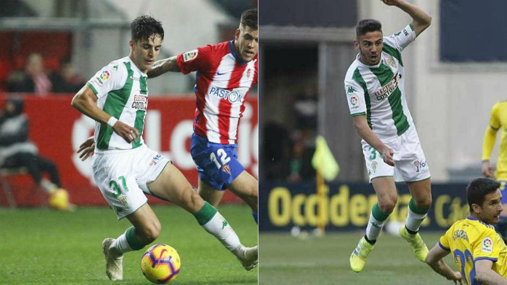 Aguado y Andrés Martín, durante esta temporada