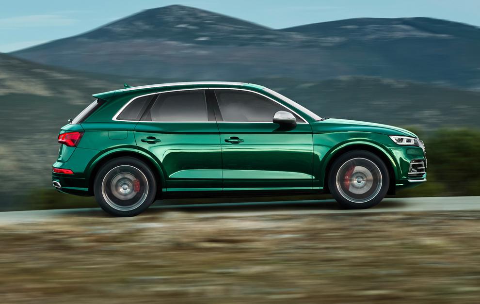 El SQ5, en Europa, se venderá con motor diésel.