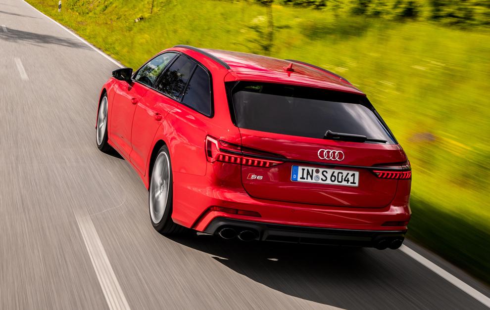 El Audi S6 Avant también cambia al diésel.
