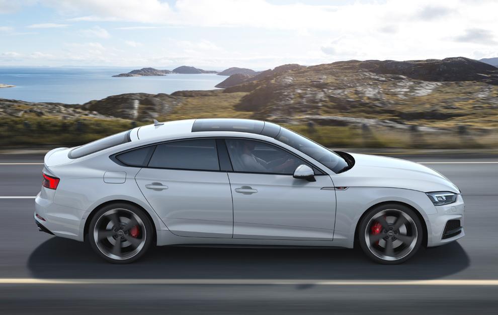 El A5 Sportback también ofrece una versión S diésel.