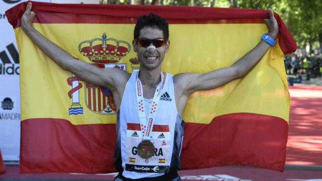 Javi Guerra tras lograr la mínima mundialista en el Maratón de...