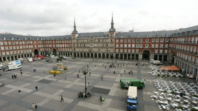 Imagen de la Plaza Mayor de Madrid.