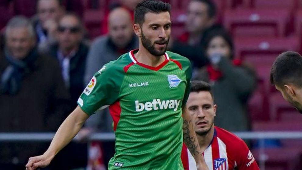 Borja Bastón se despide del Alavés