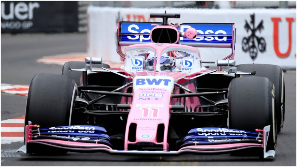 Fórmula 1 2019: Checo Pérez Tiene Su Primera Toma De