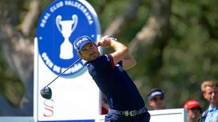 Alejandro Cañizares, en el club de golf de Valderrama.