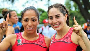 Mayan Oliver y Tamara Vega.