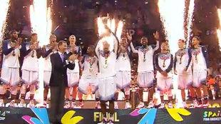 La selección de Estados Unidos, campeona del Mundo en 2014