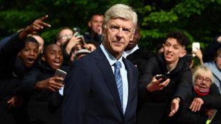 Wenger, en un acto reciente.