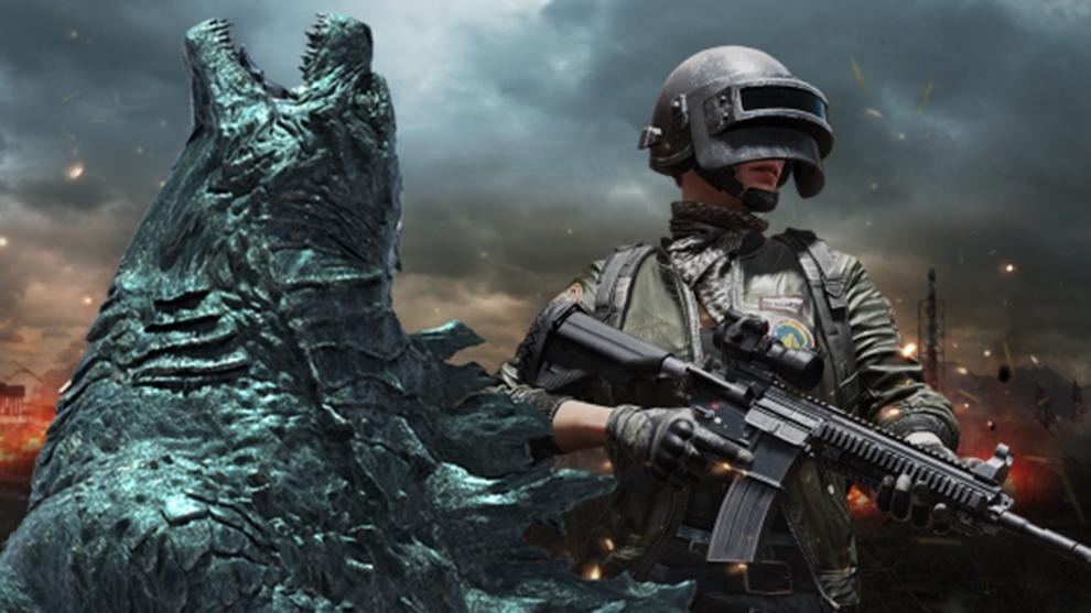 Godzilla llega a PUBG Mobile