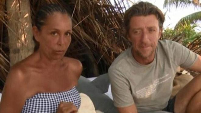 Isabel Pantoja junto a Colate, el concursante que le ha traicionado...
