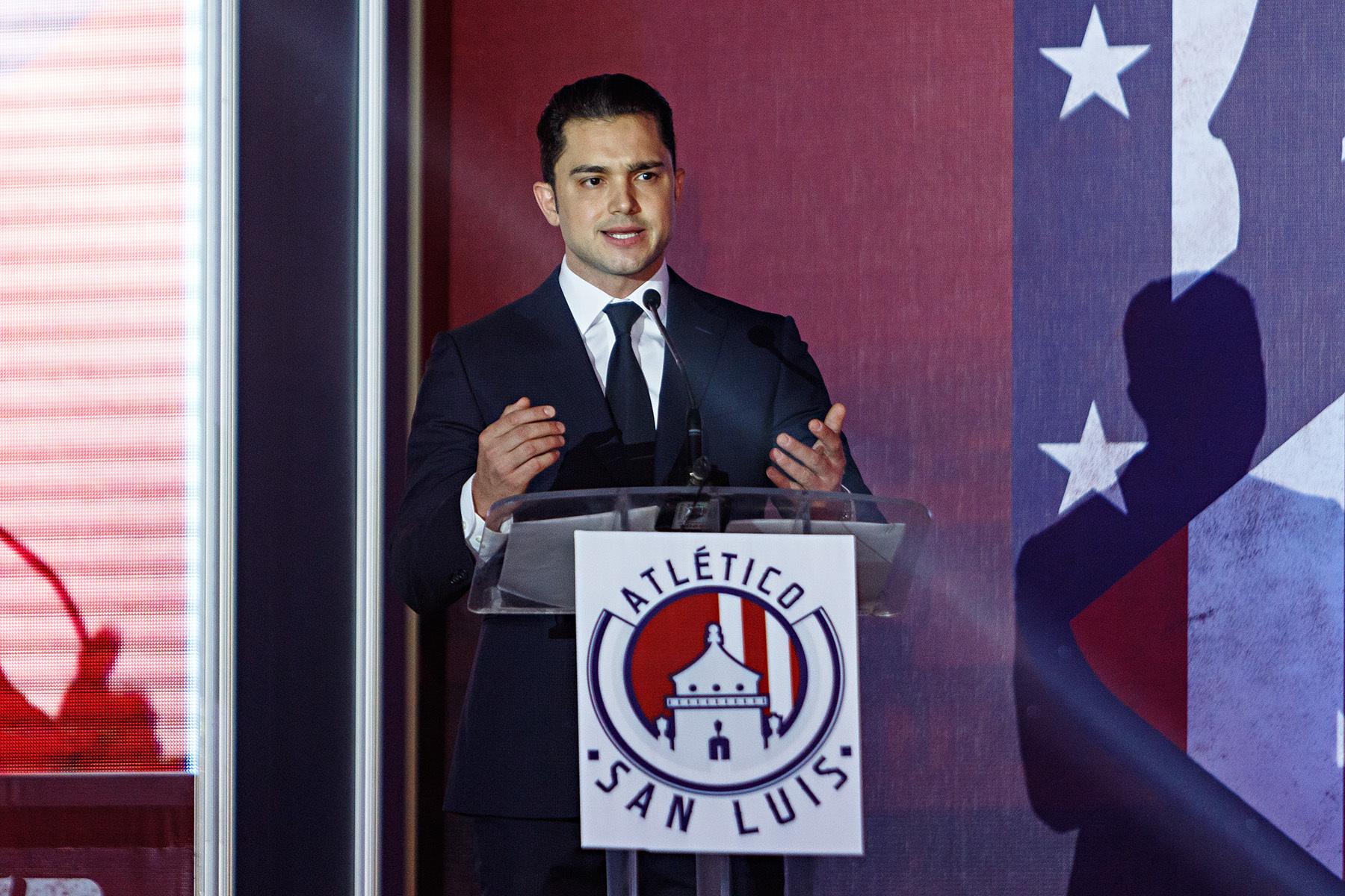 Alberto Marrero, CEO del Atlético San Luis.
