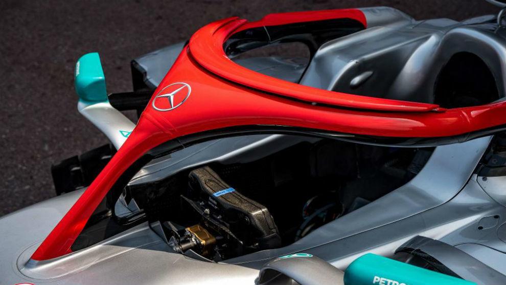 Así lucirán los mercedes W10 de Hamilton y Bottas este fin de...
