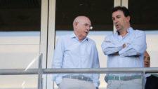 Serra Ferrer charlando con López Catalán