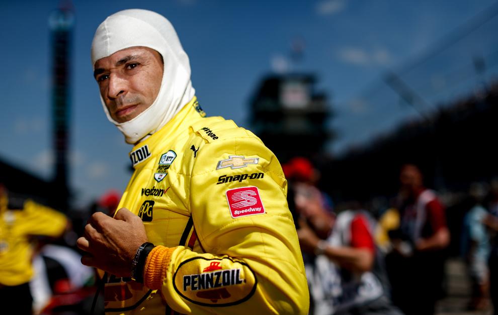 Helio Castroneves buscará su cuarta Indy 500.
