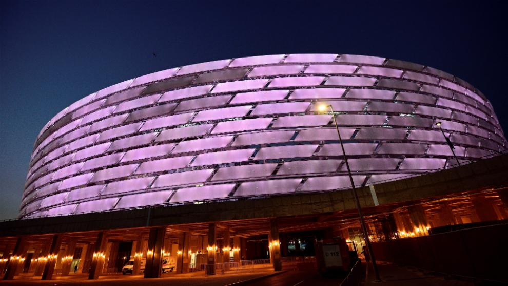 El estadio Olímpico de Bakú