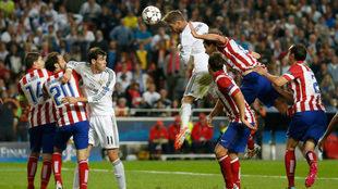 El gol de Ramos que impulsó el título merengue.