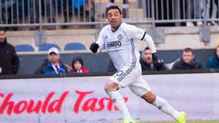 Fabián llegó como estrella a Philadelphia.